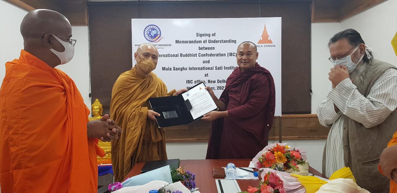 국제불교협회(IBC)와 물라상가 MOUA 체결인도 스님 수행 지도 및 SATI MASTER 양성
