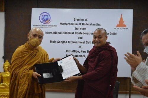 국제불교협회(IBC)와 물라상가 MOUA 체결